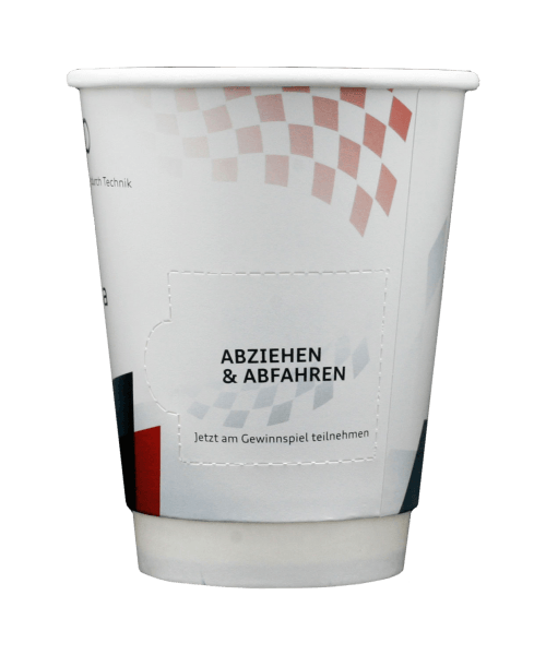 TO GO COUPON CUP 12oz (300ml)