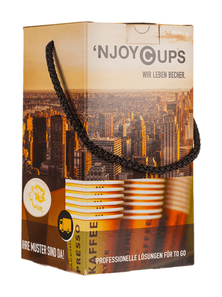 'NJOYCUPS Musterbox